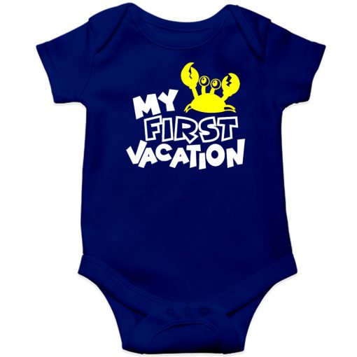 My-First-Vacation-Baby-Romper-New-Design-Blue