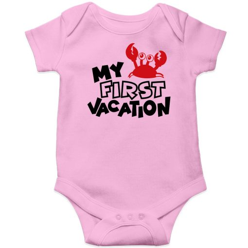 My-First-Vacation-Baby-Romper-New-Design-Pink