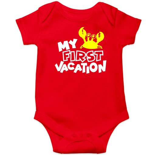 My-First-Vacation-Baby-Romper-New-Design-Red
