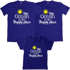 Ocean-Lover-Family-Combo-T-Shirt-Blue