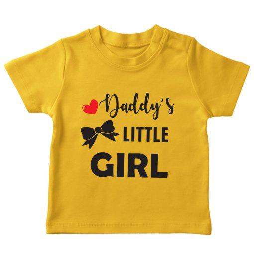Daddy's-little-girl-yellow tshirt