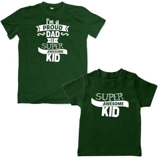 super.awesome.green tshirt