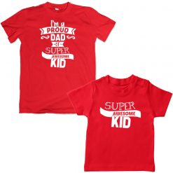 super.awesome.red tshirt