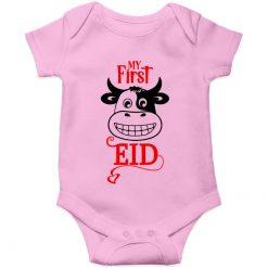 First eid ul adha pink romper